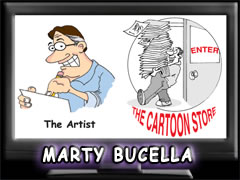 Marty Bucella Cartoonist